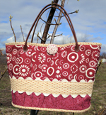 A Pickin' Cute Tote Bag Pattern